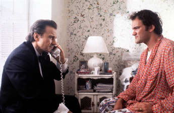 "Harvey Keitel und Quentin Tarantino in ""Pulp Fiction"""