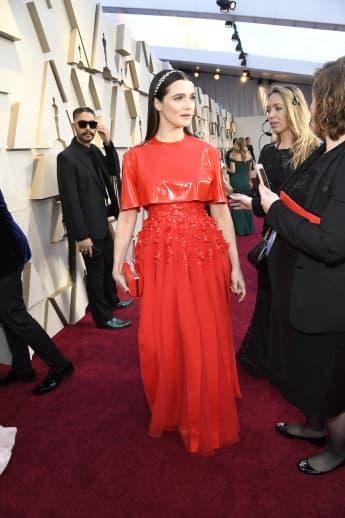 Rachel Weisz Oscar Look Kleid roter Teppich