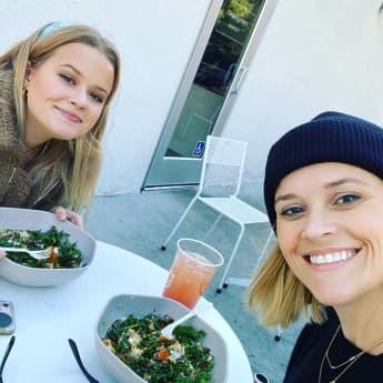 Reese Witherspoon und ihre Tochter Ava Phillippe sehen sich zum Verwechseln ähnlich
