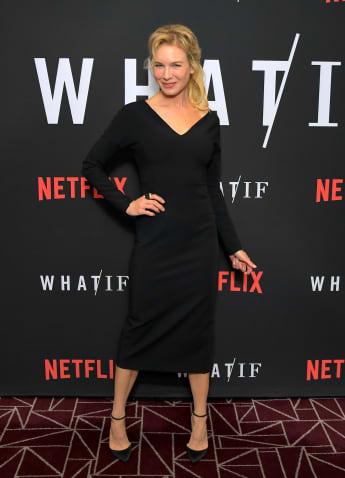 """Renée Zellweger bei der Premiere von """"What if"""" on London 2019"""