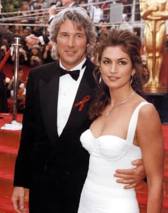 Richard Gere und Cindy Crawford zusammen bei den Oscars 1993