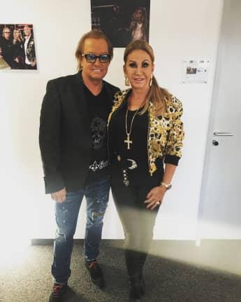 Robert Geiss und Carmen Geiss im Borgards Herrenladen 2018