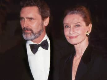 Audrey Hepburn Robert Wolders