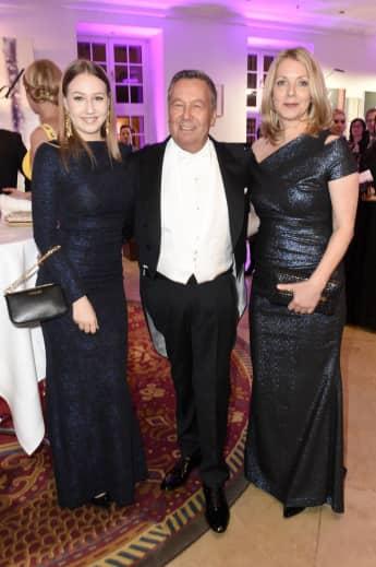 Roland Kaiser mit Frau Silvia und Tochter Annalena