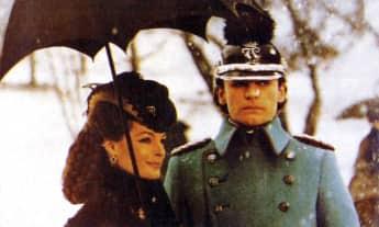 """Romy Schneider und Helmut Berger im Film """"Ludwig"""" von 1973"""