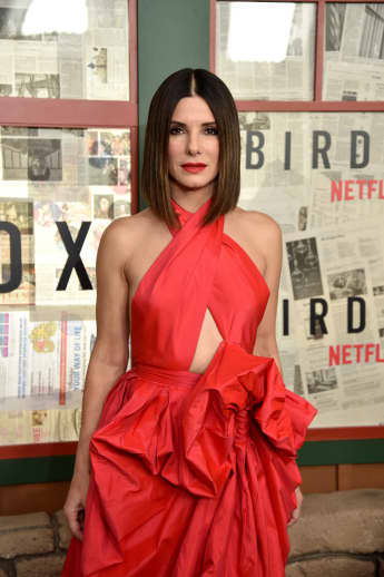 "Sandra Bullock bei dem ""New York Special Screening"" des Netflix-Films ""Bird Box"""
