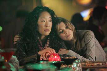 Sandra Oh, Ellen Pompeo, Meredith Grey, Cristina Yang, Grey's Anatomy
