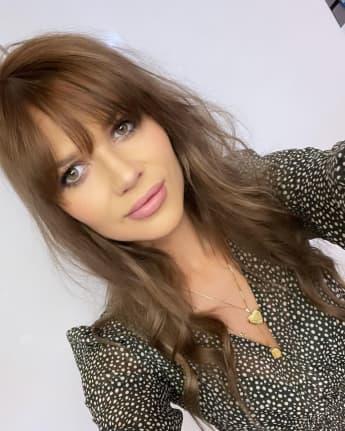 Sara Kulka braune Haare Haare gefärbt