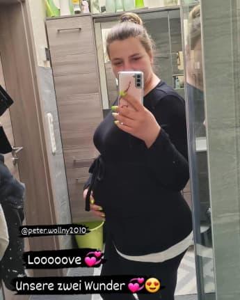 Sarafina Wollny zeigt auf Instagram ihren Babybauch