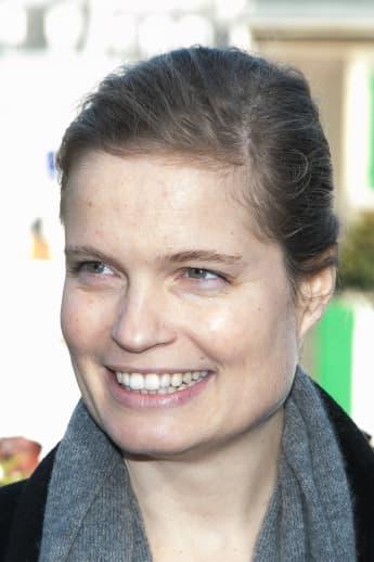 Romys Schneiders Tochter Sarah Biasini 2014 in Paris
