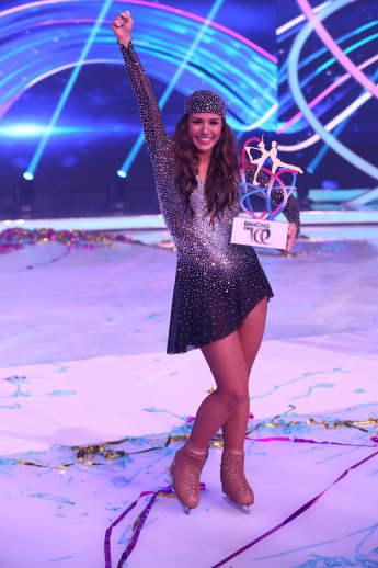 "Sarah Lombardi gewinnt ""Dancing on Ice"""
