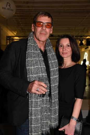 Sascha Hehn und Gloria Krass im Haus der Kunst in München 2018