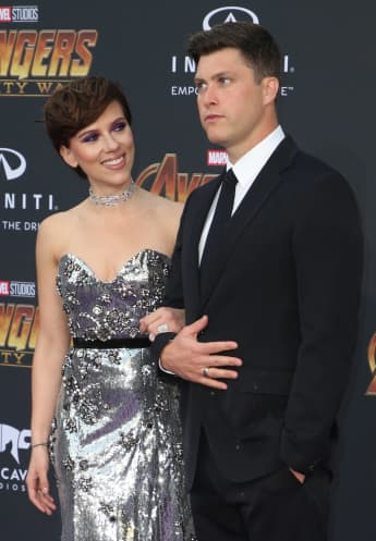 """Scarlett Johansson und Colin Jost bei der Premiere des neuen """"Avengers""""-Films"""