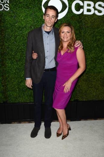 """Sean Murray und Carrie James bei der vierten jährlichen """"CBS Television Studios Summer Soiree"""""""