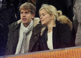 Sebastian Vettel hat Freundin Hanna geheiratet