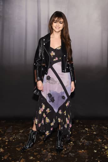 Selena Gomez bei der New York Fashion Week 2018, Coach Show