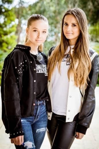 Shania und Davina Geiss