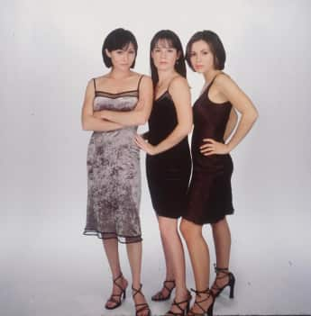 "Shannen Doherty, Holly Marie Combs and Alyssa Milano were the original ""Halliwell"" sisters on Charmed."