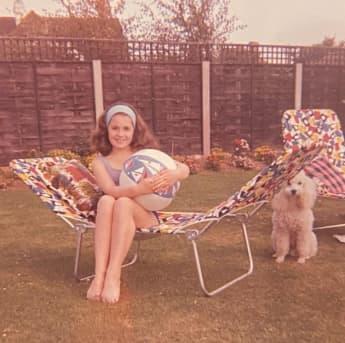 Sharon Osbourne als Kind