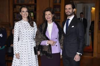 Königin Silvia schätzt die Arbeit von Prinzessin Sofia