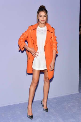 Sistine Stallone auf der New Yorker Fashionweek, Tochter von Sylvester Stallone