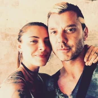 Gavin Rossdale postet auf Instagram dieses süße Foto mit Sophia Thomalla