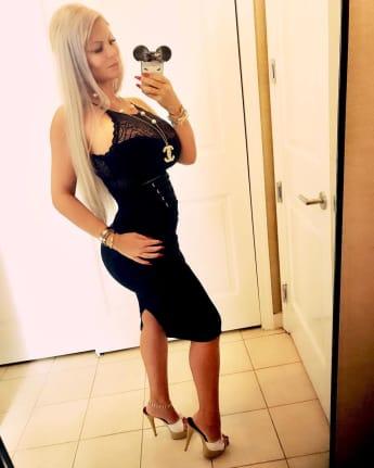 Sophia Vegas Babybauch