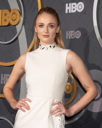 Sophie Turner bei der Emmy Awards Party des Senders HBO im Jahr 2019