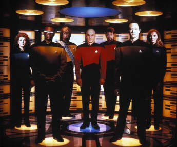 "The cast of ""Star Trek: The Next Generation"""