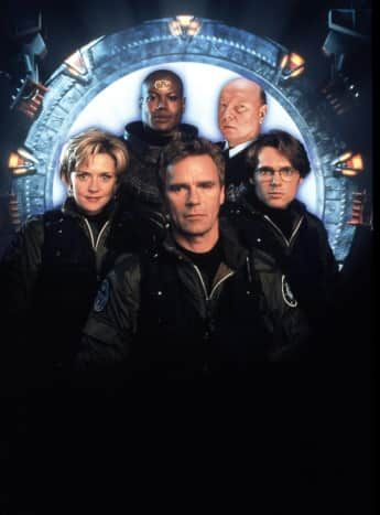 "The ""Stargate SG-1"" cast"