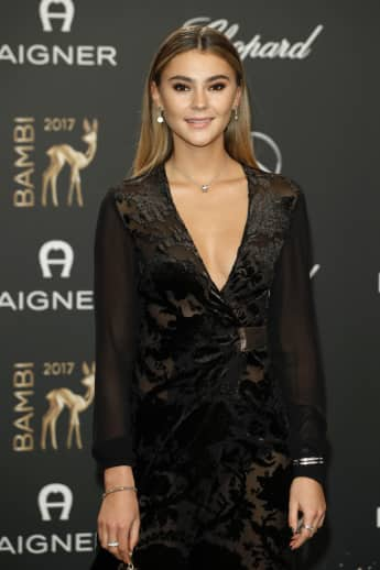 Stefanie Giesinger bei der Bambi Verleihung 2017 in Berlin, Model