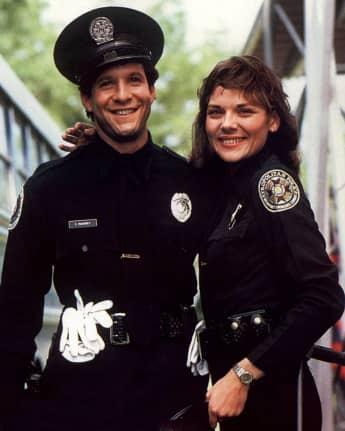Police Academy Steve Guttenberg und Kim Cattrall
