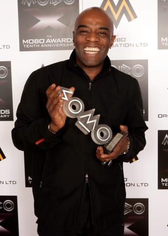 Steve Sutherland 2005 bei den MOBO Awards