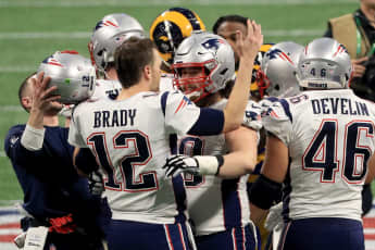 Beim 53. Super Bowl der National Football League in Atlanta sicherten sich die New England Patriots den Sieg