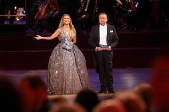 Sylvie Meis und Roland Kaiser beim Opernball 2019