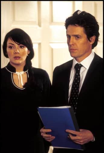 """Martine McCutcheon und Hugh Grant in """"Tatsächlich...Liebe"""""""