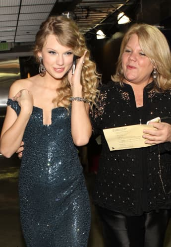 Taylor Swift und ihre Mutter Andrea Swift