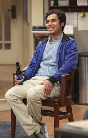 The Big Bang Theory Raj Kunal Nayyar