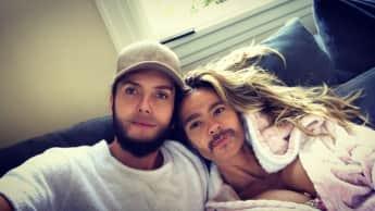 Tom Kaulitz und Heidi Klum überraschen ihre Fans auf Instagram mit einem lustigen Gesichts-Swap-Bild