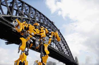 Der Autobot Bumblebee aus Transformers