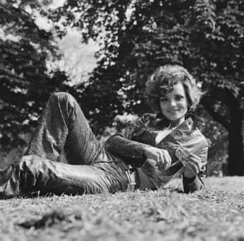 Uschi Glas 1971, deutsche Kultschauspielerin