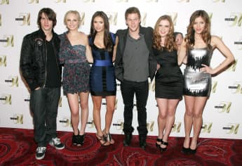 'The Vampire Diaries' Cast