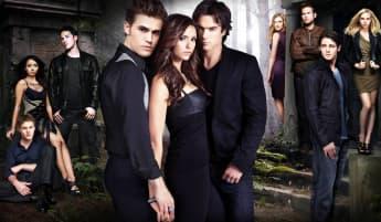 """""""Vampire Diaries""""-Cast"""