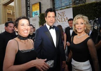 Vanessa Vadim, Troy Garity und Jane Fonda