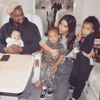 Die verrücktestesten Babynamen: Kanye West und Kim Kardashian, north west, saint west, chicago