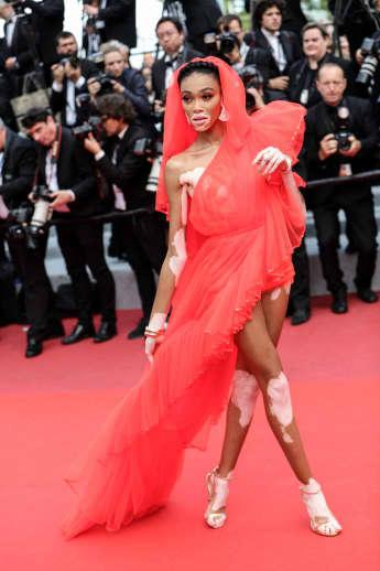 Winnie Harlow bei den Filmfestspielen in Cannes 2019