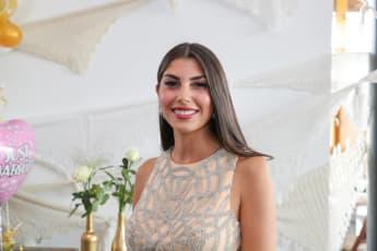Yeliz Koc bei der Hochzeit ihrer Schwester 2018