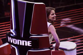 """Yvonne Catterfeld bei """"Voice of Germany"""""""