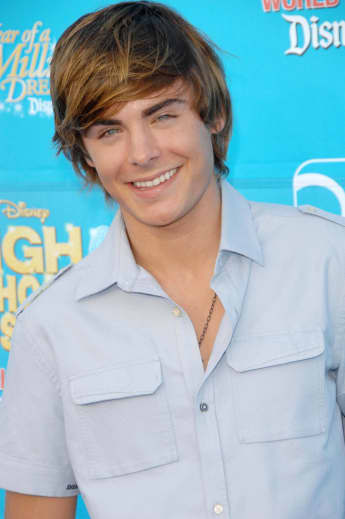 "Zac Efron war der Star von ""High School Musical"""