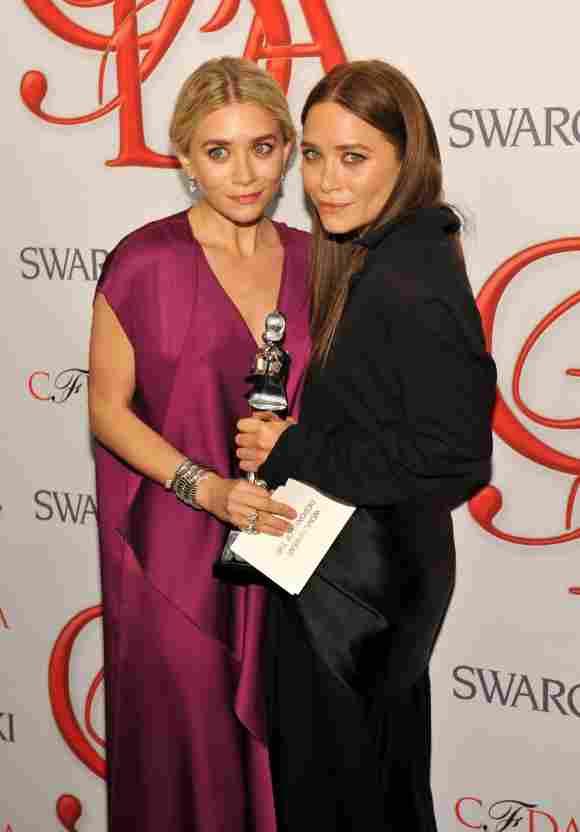 Ashley und Mary-Kate Olsen 2012